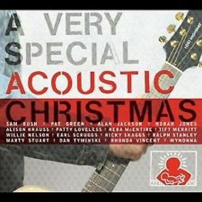 VARIOUS - VERY SPECIAL .ACOUSTIC CHRISTMAS - New Factory Sealed CD