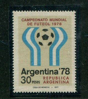 Soccer World Cup Argentina Mnt Mnh Variety Mate Paper Football 1978