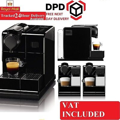 New DeLonghi Nespresso EN 550.S Lattissima One Touch Coffee Machine, Silver
