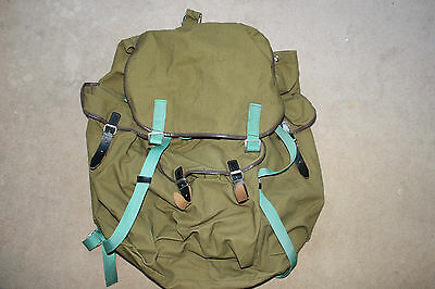 Russian Military Green Rucksack Backpack. Camping 100l