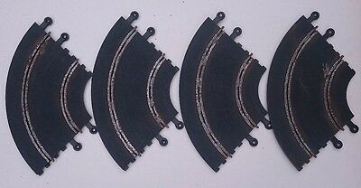 4 x Classic Scalextric hairpin curve (inner curve) C156 - used - need a clean up