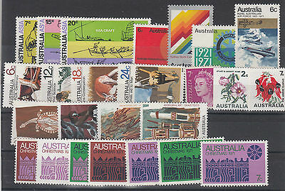 1971 year collection .25 stamps. MNH / cheap