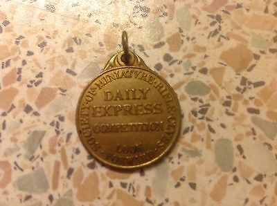 Society Of Miniature Rifle Club Daily Express Competition Medal Look Forward