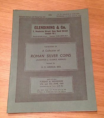 Lac Glendining Collection Of Roman Silver Coins Augustus To Clodius Albinus 1969
