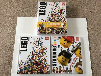 The Lego Book And Standing Small,2 Books, Good Used Condition