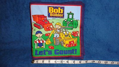 Bob The Builder Let's Count Fabric Book