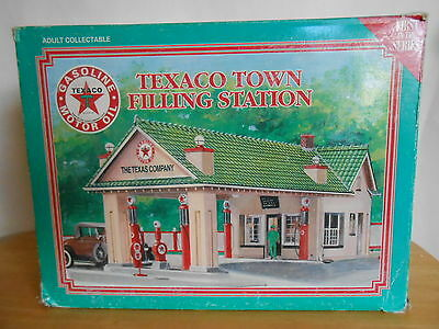 Texaco Town Filling Station First in Series. 1930 Denver Style. Porcelain