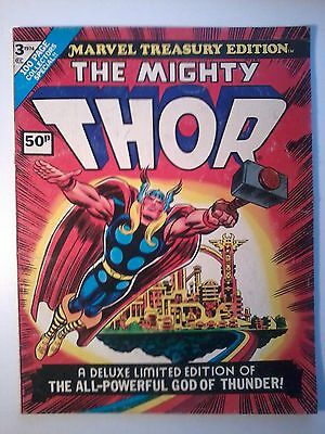 Marvel Treasury Edition #3: Mighty Thor 1974. Vg- *large Size Treasury Format