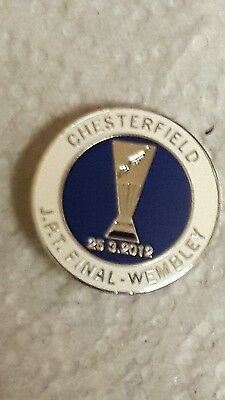 Chesterfield FC  jpt final badge