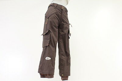 New! Ride Snowboards Dart Youth Girls Snowboarding Pants Small Brown