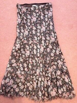 Jigsaw Junior 12-13 Years Floral Long Skirt EUC