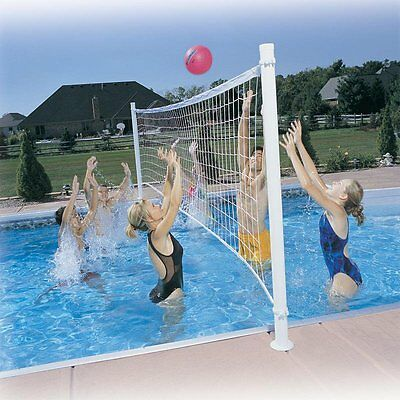 Pool Games For Adults Kids Volleyball Net Set For Pools Swimming Kids Party Ball