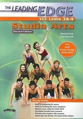 The Leading Edge Studio Arts VCE Units 3 And 4 - Student Book (2nd edition)