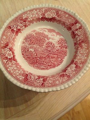Staffordshire collector's dish Adams