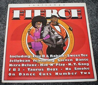 VARIOUS ARTISTS * FIERCE II * Classic Soul Funk Boogie Vinyl Album LP