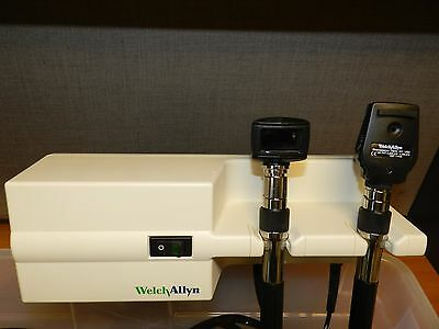 Welch Allyn Model 767 Otoscope/Ophthalmoscope Set with Heads