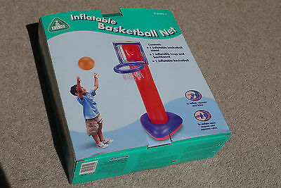 ELC inflatable basket ball stand, indoor or outdoor, Boxed.