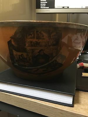 Pickwick Bowl by Charles Dickens 1837 - Ridgeway England-chipped