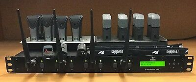 Revolabs Executive HD Wireless Mic System~SOLO executive~Batteries Needed~LOOK