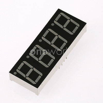 0.56 inch Digit LED Display Red 4 Digit 5461 Common Cathode Arduino