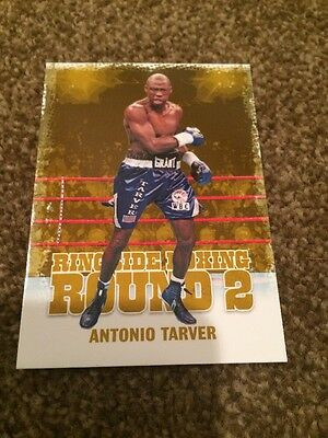 2011 Ringside Boxing Round 2 #125 Antonio Tarver Gold Parallel /9