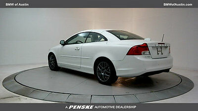 2011 Volvo C70 2dr Convertible Automatic 2dr Convertible Automatic Gasoline 2.5L 5 Cyl Ice White