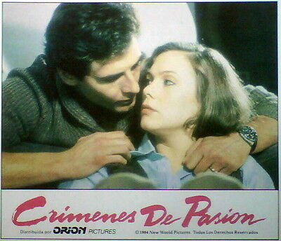 Kathleen Turner CRIMES OF PASSION lobby card 1984