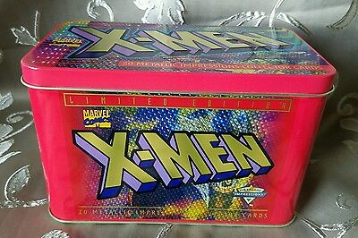 1996 Metallic Impressions Marvel X-Men 20 Limited Edition Collector Cards
