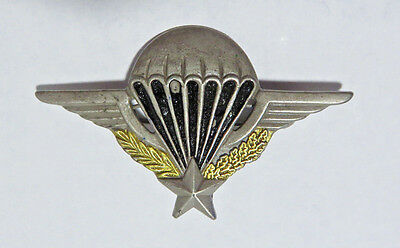 """WWll FRENCH PARATROOER WINGS PIN 3"""" METAL"""