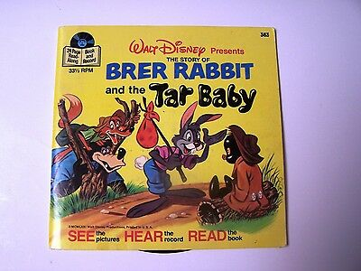 Brer Rabbit And The Tar Baby 363 With Booklet and 33 1/2 RPM Record