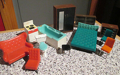 vintage * TRIANG * 16th scale DOLLS HOUSE FURNITURE / Lundby size