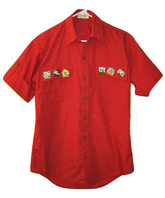 6 EMPLOYEE PINS OUTBACK STEAKHOUSE Uniform shirt DRACULA EASTER JULY 4 BONZER S