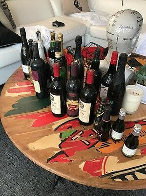 20 Old Bottles Of Mixed Bottles Of Wine, Port And God Knows What! Lol!
