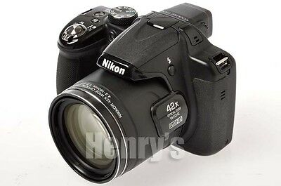 Nikon Coolpix P530 16Mp Digital Point And Shoot/black/42X Zoom/refurbished