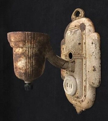 Vintage Antique Metal Wall Sconce