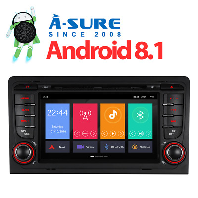 Audi A3 2003-2013 Car Radio Stereo DVD Player GPS Sat Nav Bluetooth CANBUS USB