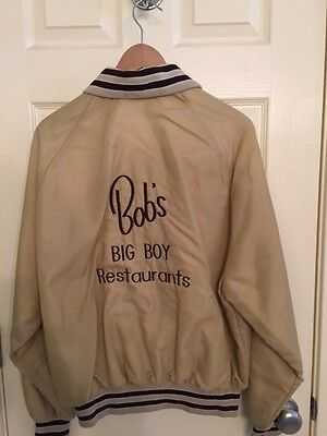 Vintage Bob'd Big Boy carhop jacket 1960's