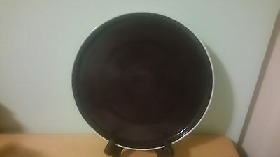 Block Chromatics Gold Brown Dinner Plate - Made in Germany