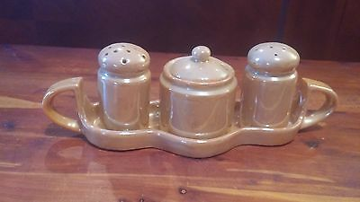 Made in Japan Condiment Salt and Pepper Set with Tray