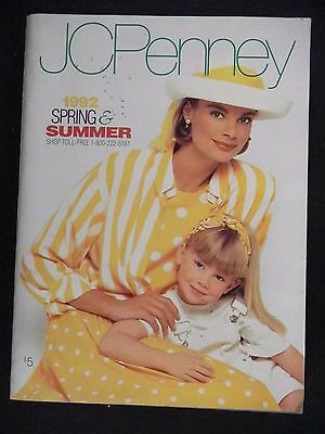 JCPenney 1992 Spring Summer CATALOG 1363 pgs. Fashion HOME Electronics ETC. vtg