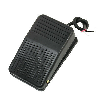 220V 10A SPDT Nonslip plastic Momentary Electric Power Foot Pedal Switch CT