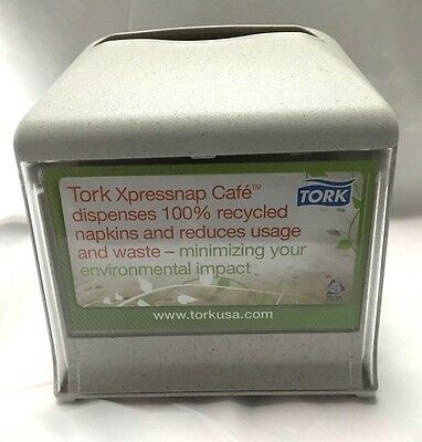 New...tork Xpressnap Cafe Dispenser...w/ Changable Advertising Sheets