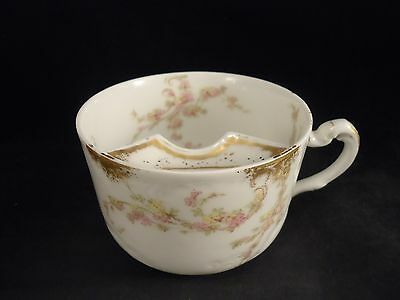 HAVILAND Mustache Cup  #247 Pink Yellow PERFECT  LIMOGES, FRANCE