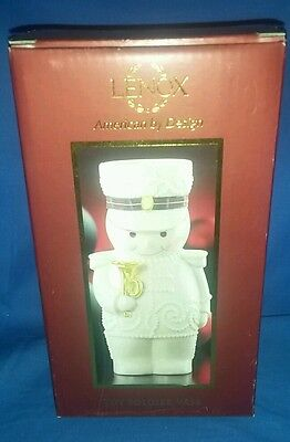 Lenox Christmas Toy Soldier Vase - New In Box