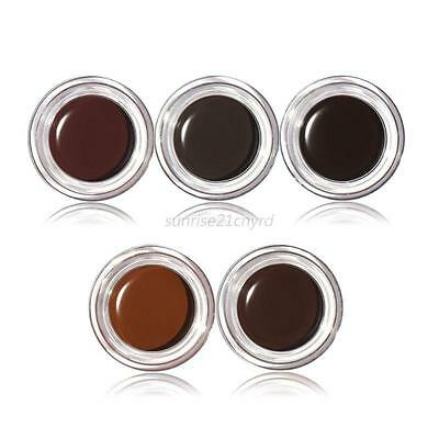 Waterproof Long Lasting Intensive Eyebrow Dye Tint Kit Tinting W/ Brush Cosmetic