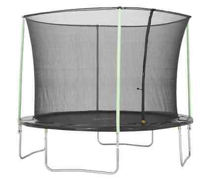 Plum 12ft Complete Trampoline and Enclosure Set Outdoors/Garden (with Safety Net