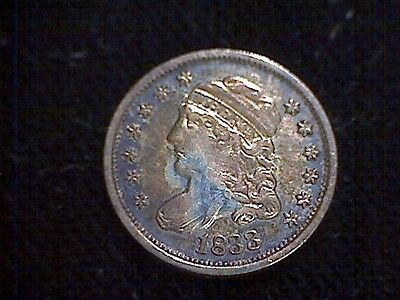 1833 Capped Bust Half Dime!!! Easy Xf!!