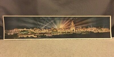 1915 San Francisco Panama Pacific Exposition PPIE Panorama Poster Photo Exhibits