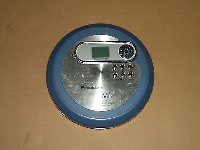 Panasonic/ Presidian MP3/CD Player Model  PCD-110 Anti-Skip Buffer, Working