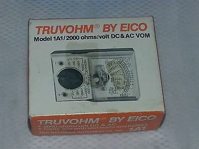 vintage EICO electronic instrument co. inc. Model 1A1 brand new in box.